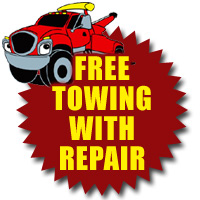 Free Tow Does Not Apply When Customer Has Own Parts Installed NO Other Discounts Allowed With
